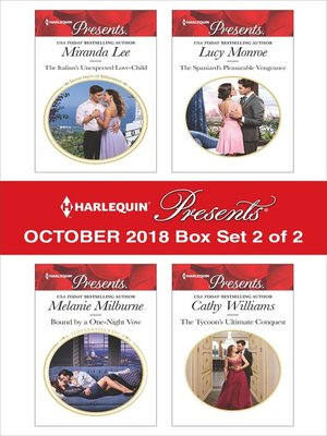 cover image of Harlequin Presents October 2018--Box Set 2 of 2
